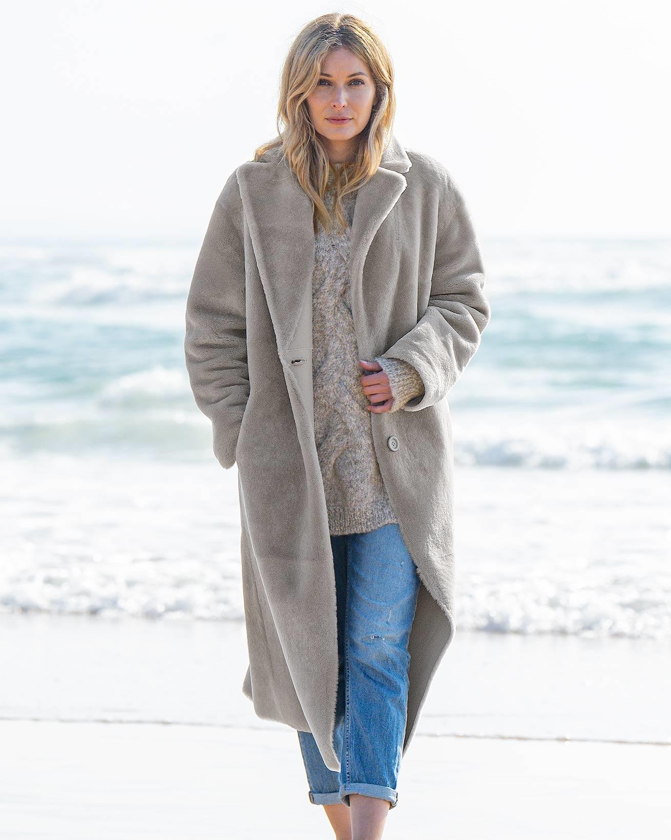 Reversible Long Coat