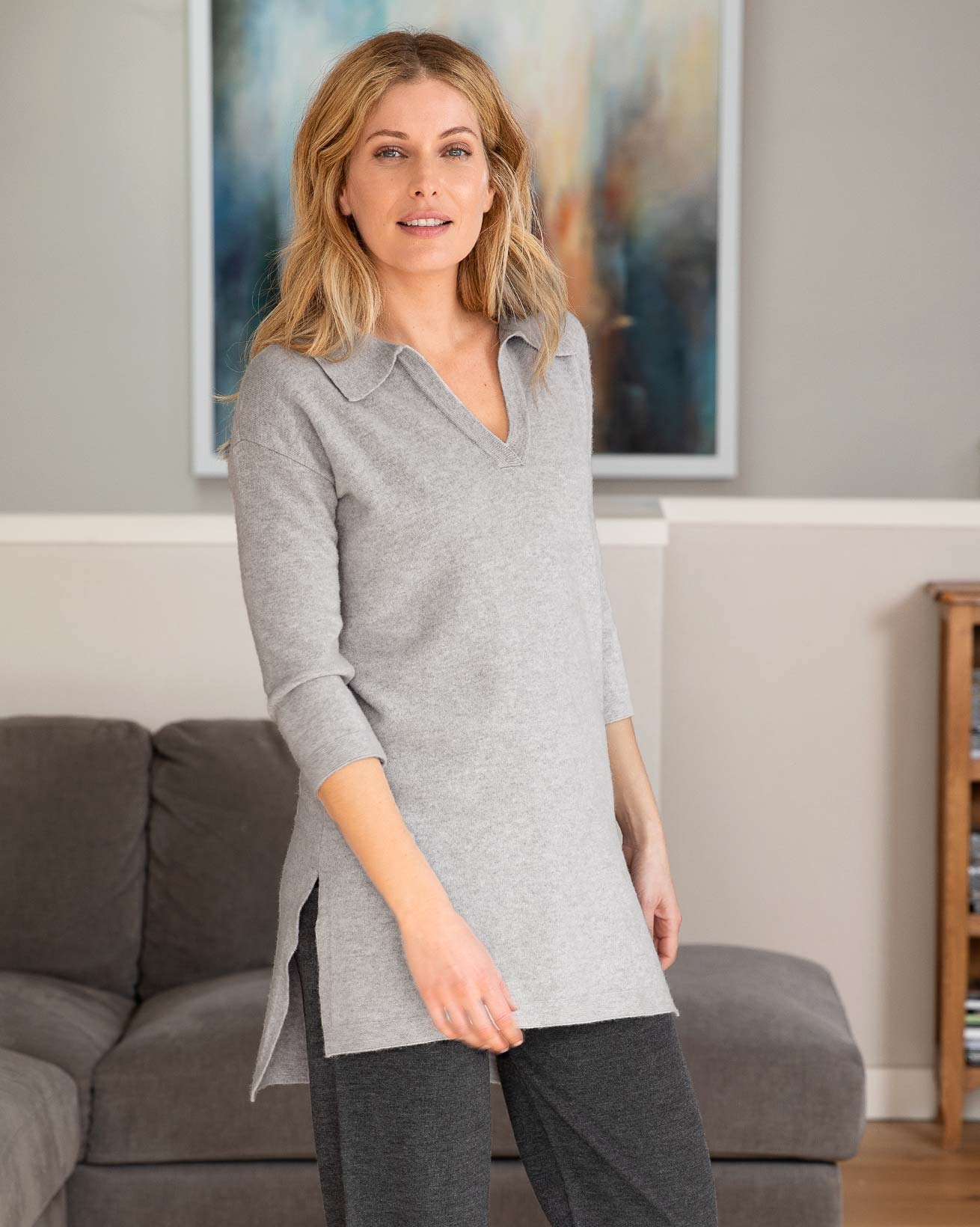 Supersoft Polo Tunic