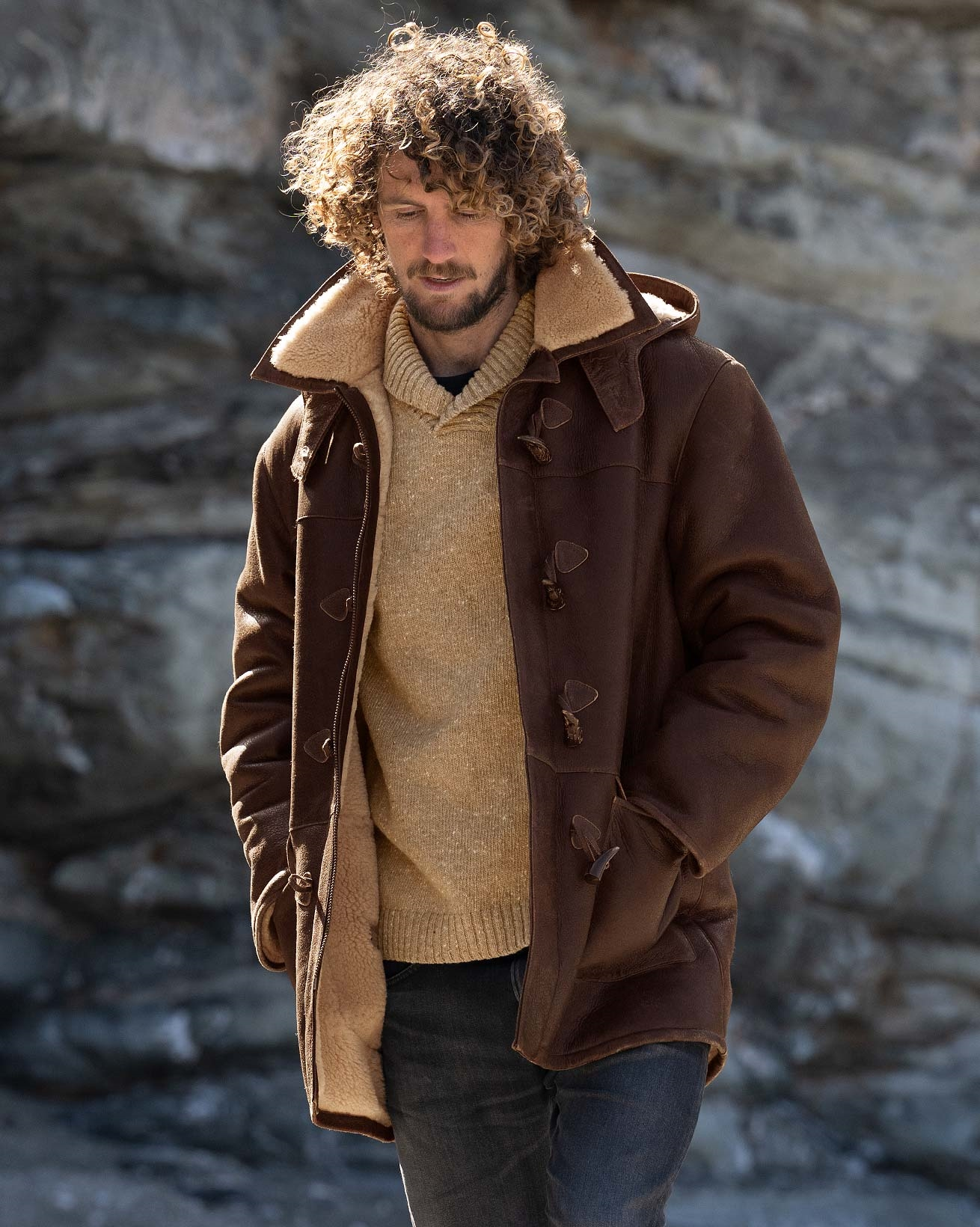 Men's Celtic Duffle Coat