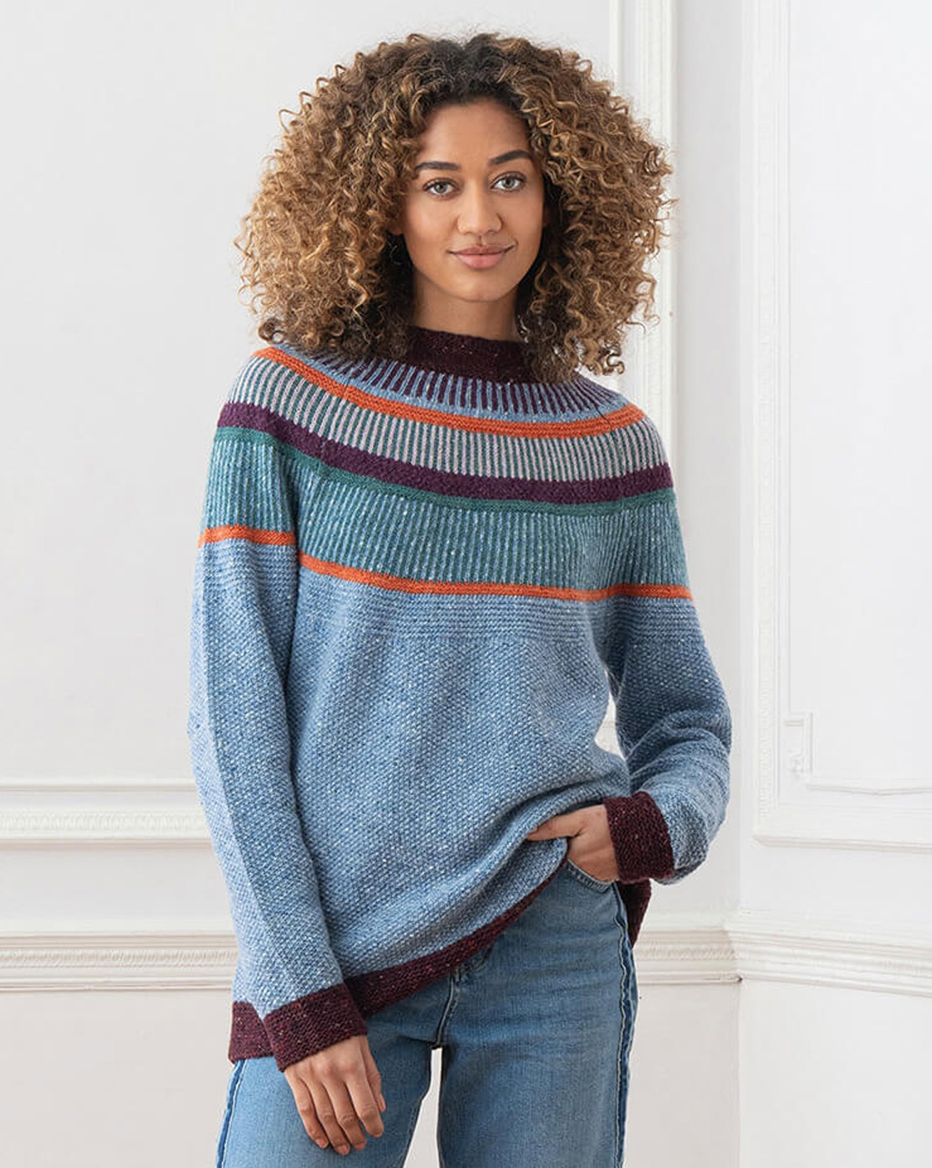 Statement Donegal Sweater