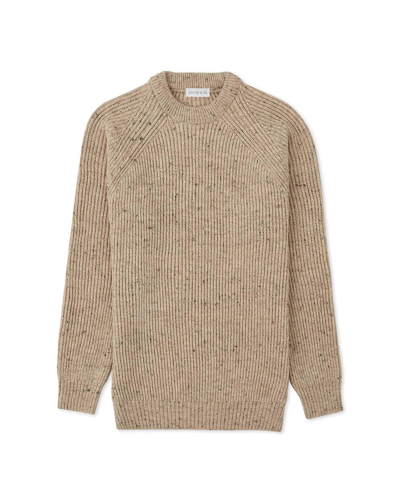 Men's Ribbed Fishermans Sweater
