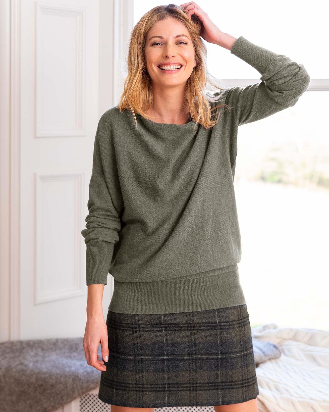 Soft Cowl Sweater