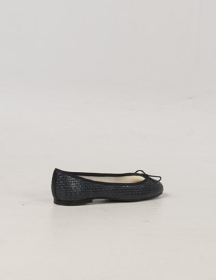 6985 - French Sole Woven Pumps - Navy - Back.jpg