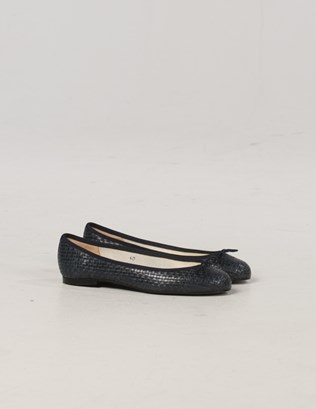 6985 - French Sole Woven Pumps - Navy - Pair.jpg