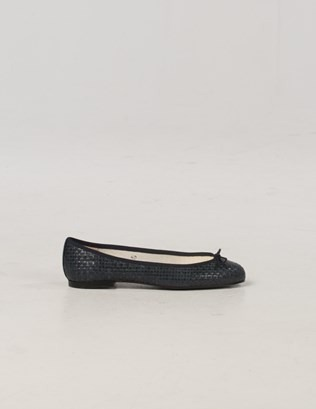 6985 - French Sole Woven Pumps - Navy - Outside.jpg