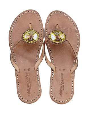 Bafana Beaded Sandals