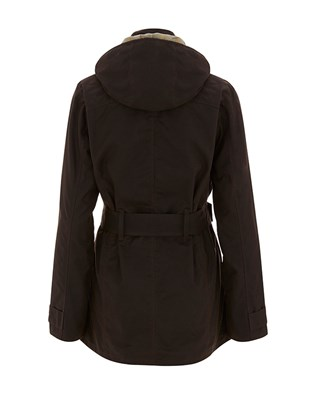 7118 BELTED WAXED COTTON HOODED JACKET_ANTIQUE BROWN_BACK_AW15.jpg