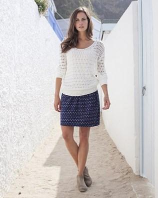 Ikat Woven Skirt