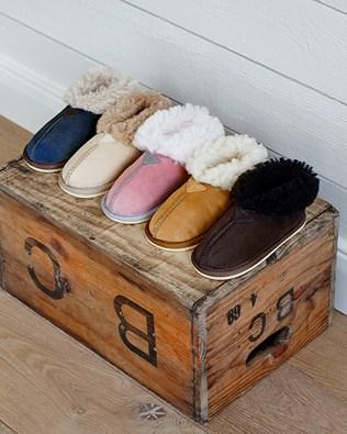 Kids' Sheepskin Slippers - Bootees