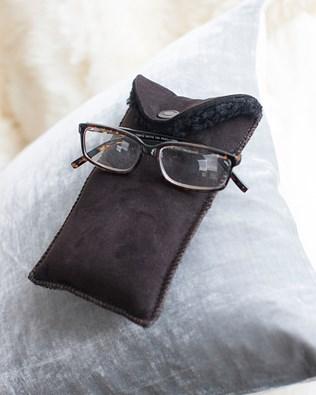 Sheepskin Glasses Case