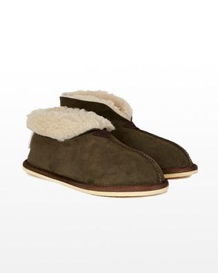 Sheepskin Bootee Slipper - Moorland - Size 8 - 2472