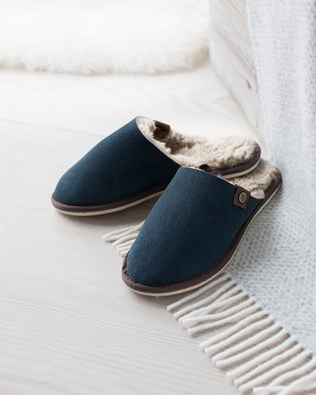 Ladies Shearling Mules