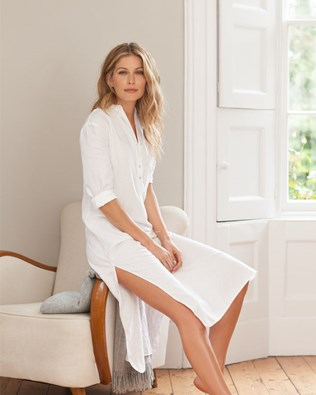 Soft Linen Nightie