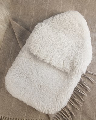 Sheepskin Hot Water Bottle Cover