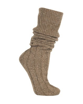 wool_boot sock_chocolate marl_down.jpg