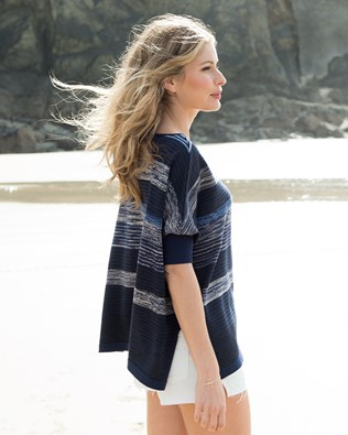 Fine Knit Slouch Top