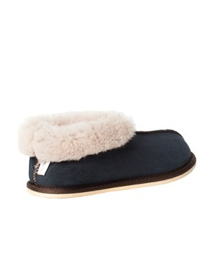 2100 sheepskin bootee slipper_blue iris_back.jpg