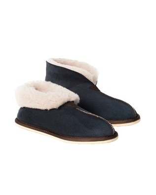 2100 sheepskin bootee slipper_blue iris_pair1.jpg