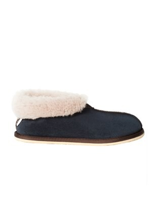 2100 sheepskin bootee slipper_blue iris_side.jpg