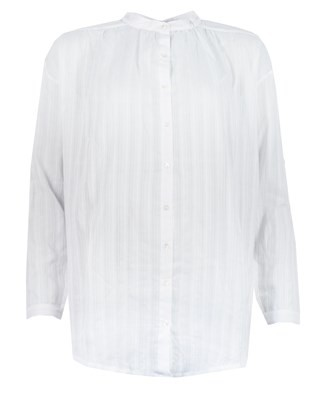 Romany Beach Shirt - Size Small - White