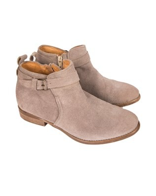 Ankle Suede Boot - Size 36