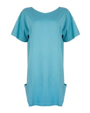 Beach Dress -Size Medium – Aqua