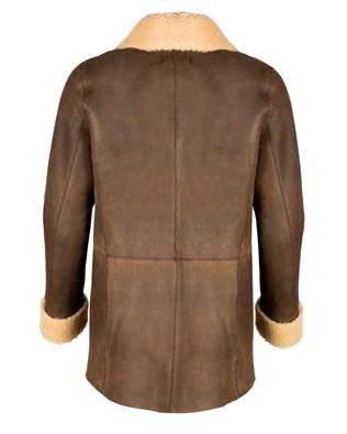 7257_sheepskin box jacket_walnut_back_aw17.jpg