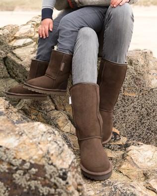 Classic Sheepskin Boots - Calf Height