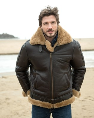 Men's Shearling Flying Jacket