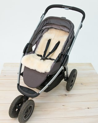 Shearling Pushchair Liner