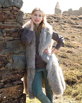 Reversible Hooded Himalayan Gilet
