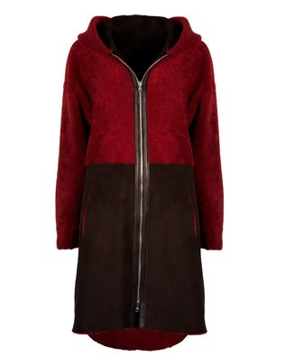 7410_two tone parka_front2 red_black_aw17.jpg