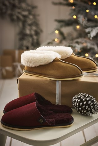 sheepskin bootee slipper £63, sheepskin mules £52 celtic and co.jpg