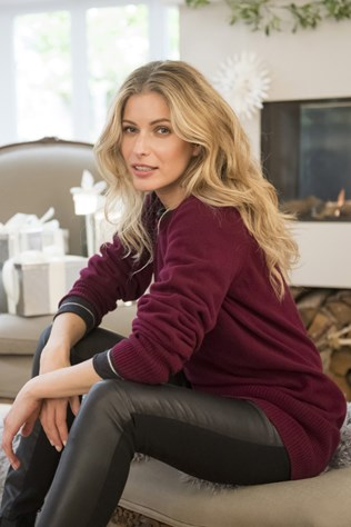 supersoft slouch jumper £89, fine knit merino crewneck £70, gaberdine leather leggings £295.jpg