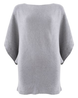 Kimono Knit - Size Small - Dove Grey 259