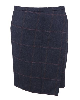 Wool Skirt - Size 10 - Jackdaw, 54cm 278