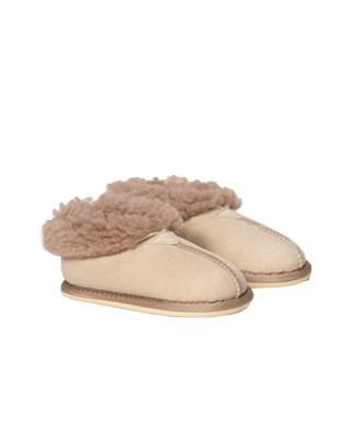 Kids Bootee - Size 7-8 - Oatmeal - 889