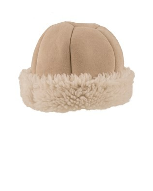 Ladies Beanie Hat - Size Medium - Stone 255