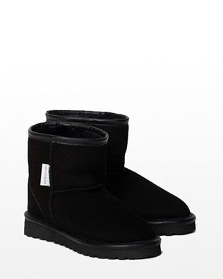 MENS SHORTIE BOOTS - SIZE 13-14 - BLACK 345