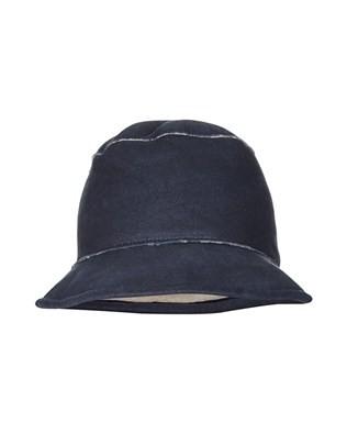 SHEEPSKIN DIXIE HAT - MEDIUM - DARK NAVY