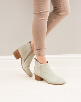 Tab Ankle Boots