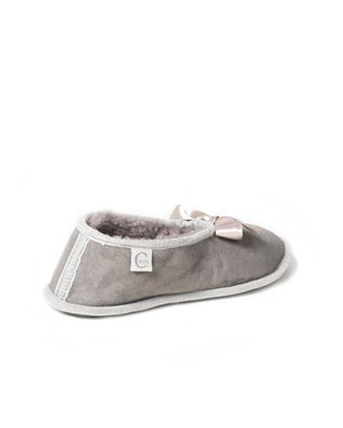 6630 sheepskin ballerina slipper_light grey_back.jpg
