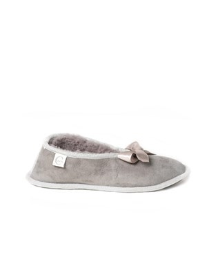 6630 sheepskin ballerina slipper_light grey_side.jpg
