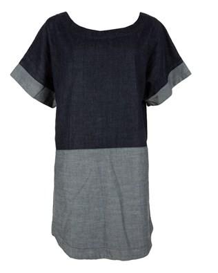 Denim Tshirt Dress - Size Small