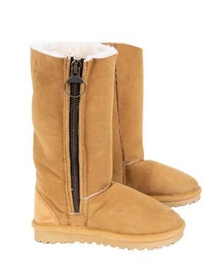 Aviator Boot Calf - Size 5 - Spice - 419