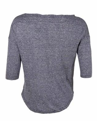 474- linen half sleeve t - small- blue micro sripe- back.jpg