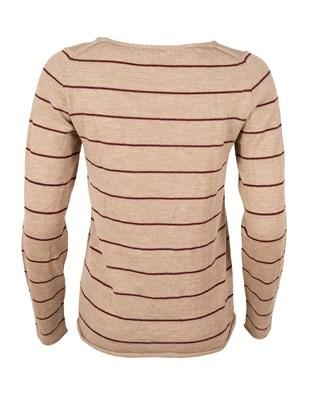 483- fine knit merino crew- small- putty and wine stripe. back.jpg
