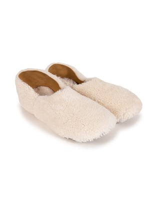 Cocoon Slipper - Size 6 - Ivory - 1996