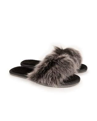 Toscana Slides - Size 2 - Ebony Snow Tip - 1078