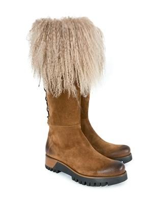 Himalayan Knee Boot - Size 38 - Cinnamon - 1597